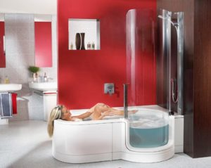 baignoire-douche-avec-porte